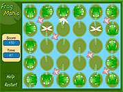 Click to Play Frog Mania