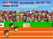 Click to Play 100m Running Game