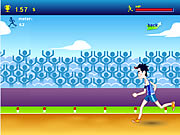 Click to Play 100m Running