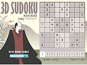 Click to Play 3d Suduku