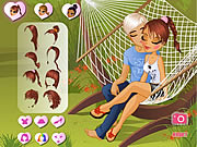 Click to Play A Kiss In A Hammock