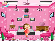 Click to Play Barbie Pink Room