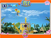 Click to Play Fifi's Flying Flower Petals