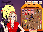 Click to Play Halloween Make Up Game