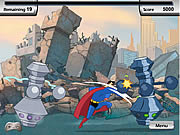 Click to Play Justice League Training Academy - Superman