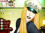 Click to Play Lady Gaga Makeover