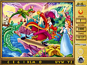 Click to Play Peter Pan Find The Alphabets