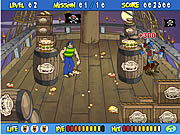 Click to Play Scooby Doo's Pirate Pie Toss