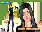 Click to Play Shining Girl Makeover