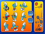 Click to Play Smurfs Sports Pairs