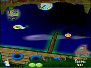 Click to Play SpongeBob In Ghostly Gold Grab