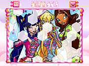 Click to Play Winx Club Hexagon Puzzle