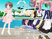 Click to Play Anime Cutie Dressup