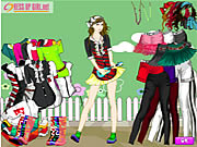 Click to Play Artist Girl Dressup