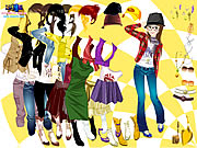 Click to Play Autumn Season Dress Up