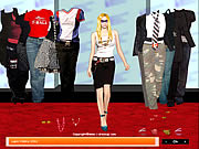 Click to Play Avril Lavigne Dress up