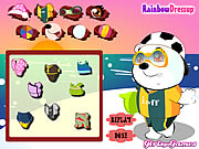 Click to Play Baby Polar Bear Dress Up