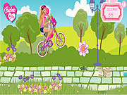 Click to Play Barbie &amp; Me Bike Game