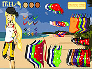 Click to Play Beach Dress up