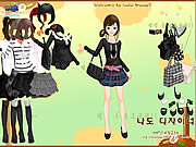 Click to Play Black Fashion Dress Up