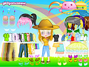 Click to Play Cutie Doll Dress Up