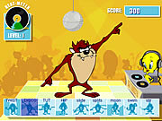 Click to Play Taz's Dance Fever