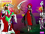 Click to Play Distinctive Dresses for Halloween