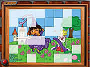 Click to Play Sort My Tiles Dora the Queen