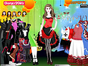 Click to Play Doris Punk Girl Dressup