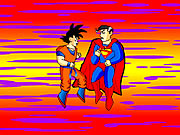 Click to Play Dragon Ball Goku vs Superman