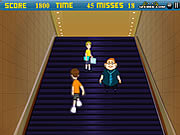 Click to Play Escalator Fun