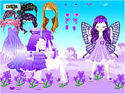 Click to Play Fairy of March Flower Violet