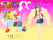 Click to Play Fashion Angel Dress Up