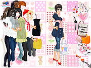 Click to Play Fashionista Dress Up