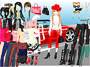 Click to Play Ferrari Dress Up 4