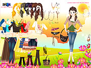 Click to Play Flower Field Dress Up