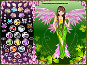 Click to Play Forest Angel Dress Up