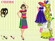 Click to Play Full of Color Dressup