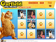 Click to Play Garfield Memory Game
