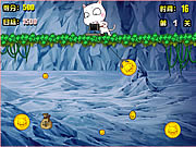 Click to Play Gold Miner Cat