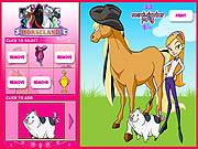 Click to Play Horseland Dress up