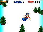 Click to Play Super Snowboard X
