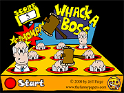 Click to Play Whack a Boss