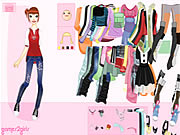 Click to Play Kitty Girl Dressup