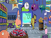 Click to Play Sponge Bob Square Pants: Plankton's Krusty Bottom Weekly