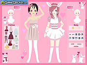 Click to Play Love Bunnies Dress Up