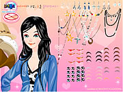 Click to Play The Color Make Up Which it Shakes Off