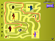 Click to Play Maze Game - Game Play 10