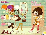 Click to Play Mimi the Doll Dressup