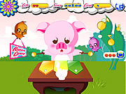 Click to Play Piggy Musician